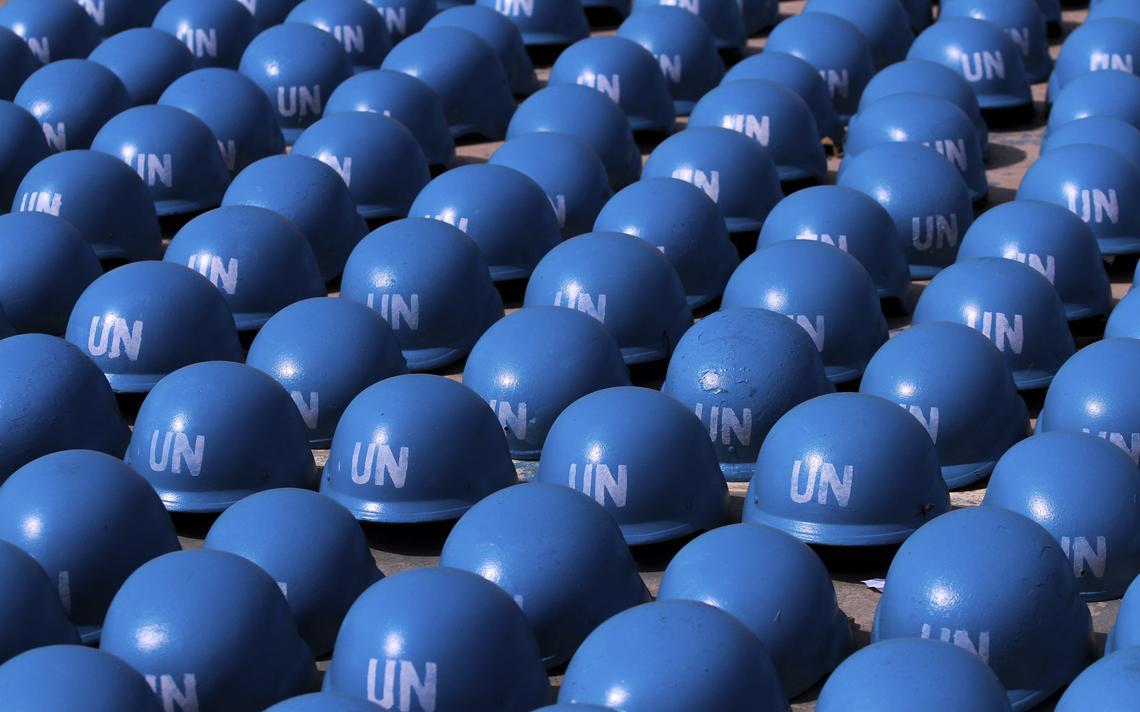 Capacetes ONU