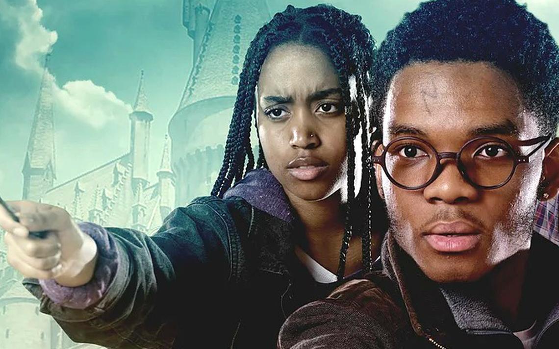 Cartaz de 'Harry Potter' na versão de protesto do grupo britânico Legally Black