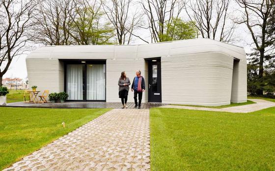 O projeto holandês que faz casas com impressoras 3D