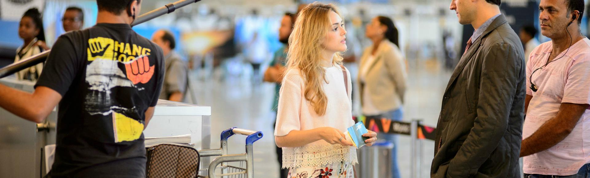 Cena da novela 'Sete Vidas', da Rede Globo