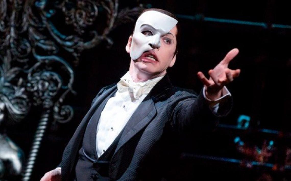 Cena do musical 'O Fantasma da Ópera', que teve valor histórico aprovado via Rouanet