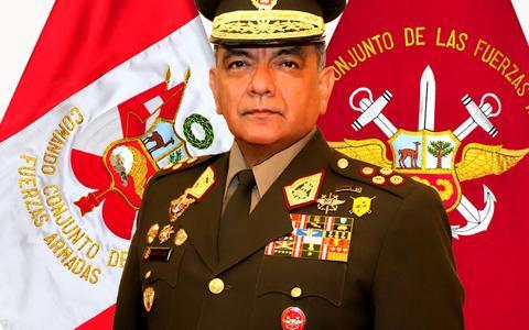 Comandante das Forças Armadas renuncia ao cargo no Peru