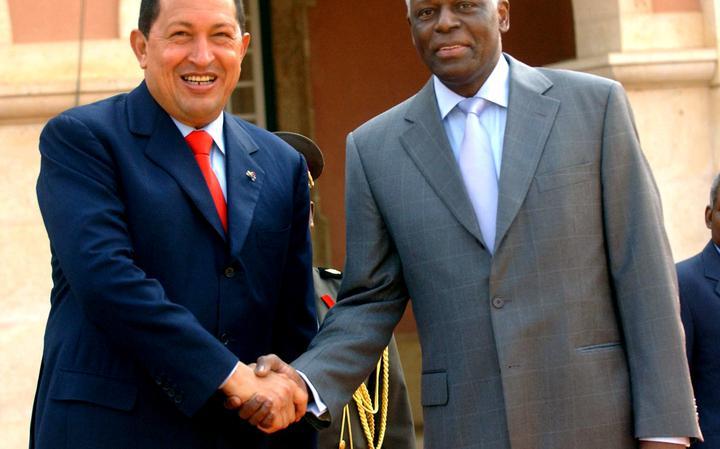 Encontro de Chávez e Santos