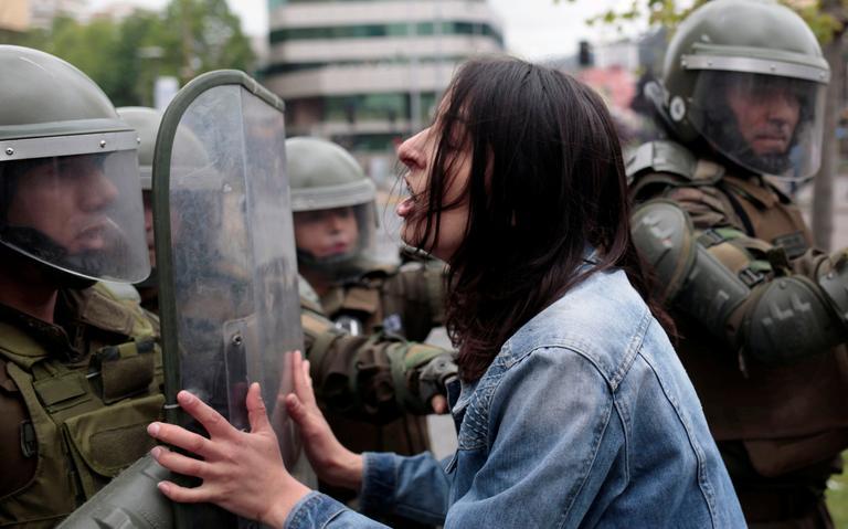 Protesto_Chile