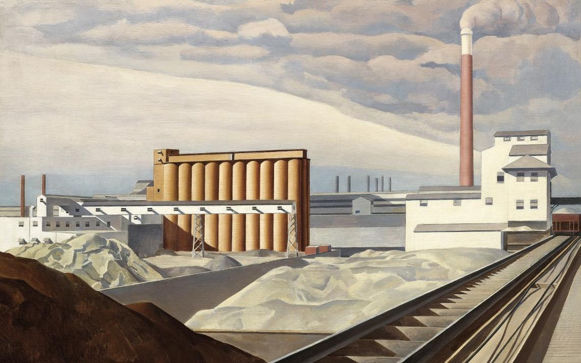 Classic Landscape, de Charles Sheeler (1931)