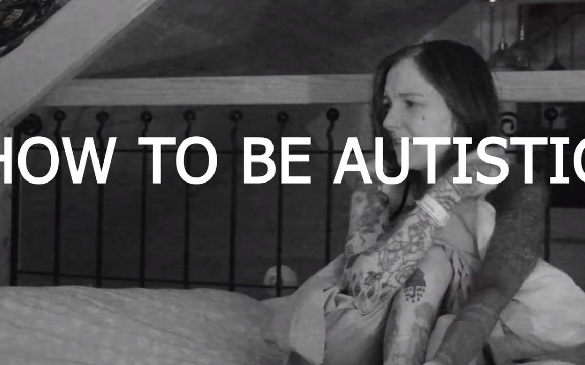 Imagem do vídeo 'como ser autista', de Charlotte Amelia Poe