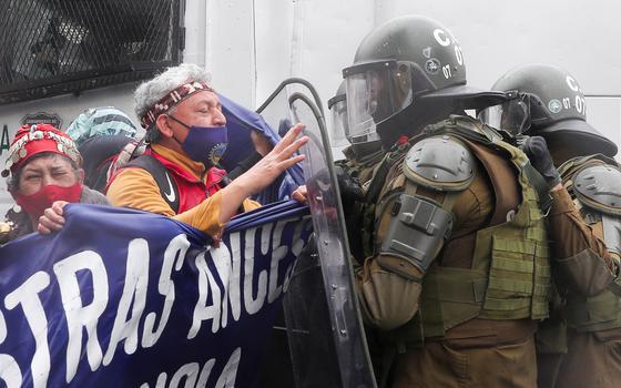 A militarização do conflito com indígenas mapuche no Chile