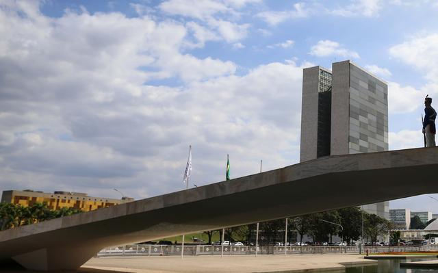 Rampa do Palácio do Planalto em Brasília