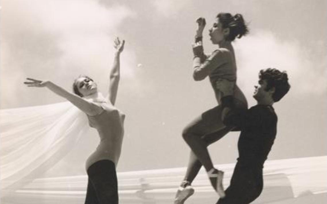 Fotografia de Rudolph Nureyev presente no site da Fundação Árabe de Imagens