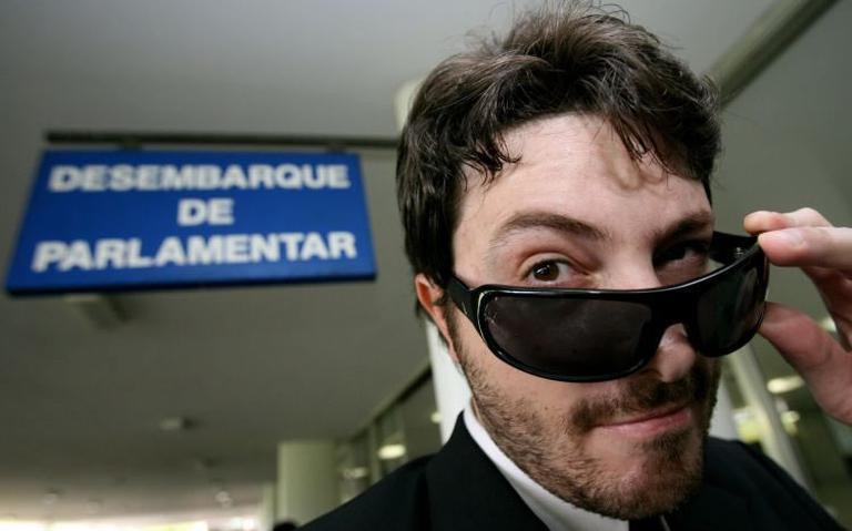 Imagem de Danilo Gentili, em 2011