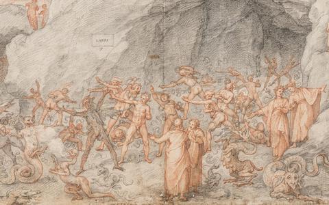 As ilustrações do século 16 da 'Divina Comédia' de Dante