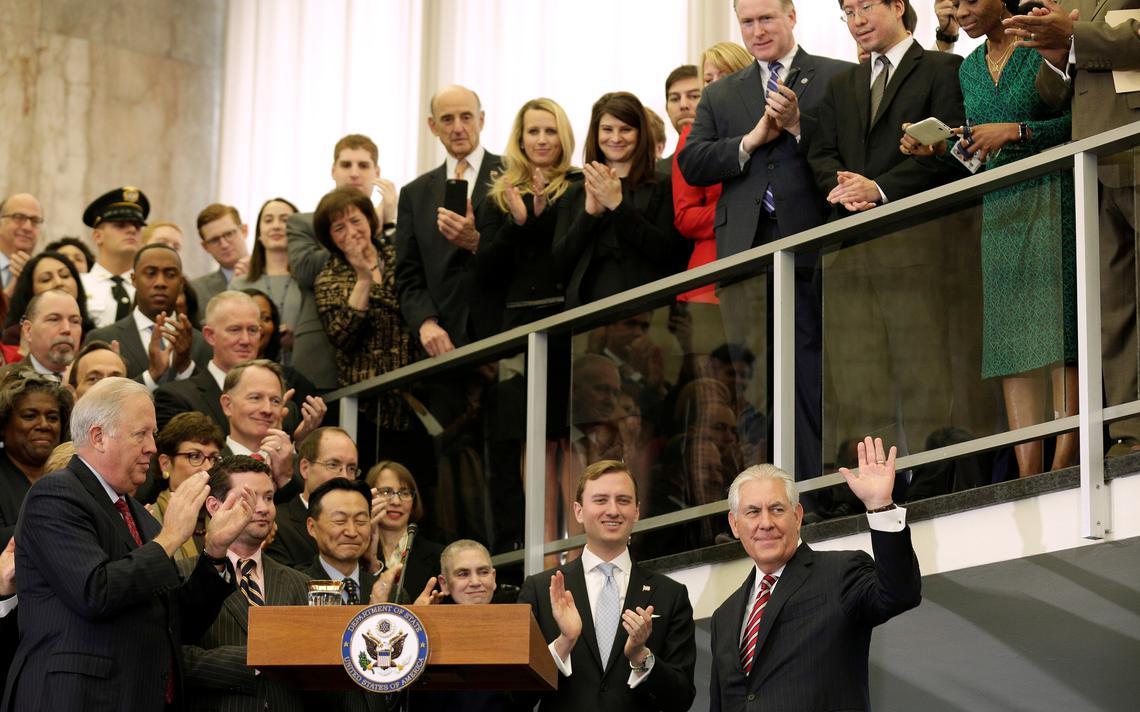 Funcionários do Departamento de Estado