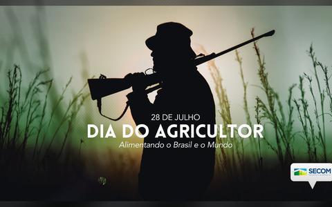 Governo publica foto de homem armado no Dia do Agricultor