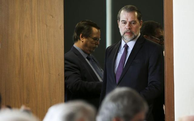 Presidente do Supremo, ministro Dias Toffoli