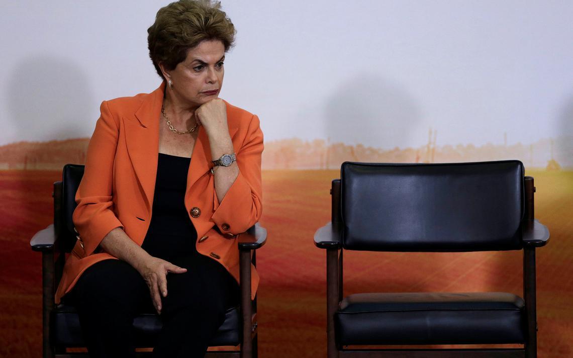Dilma em evento no Palácio do Planalto nesta quarta-feira (4)