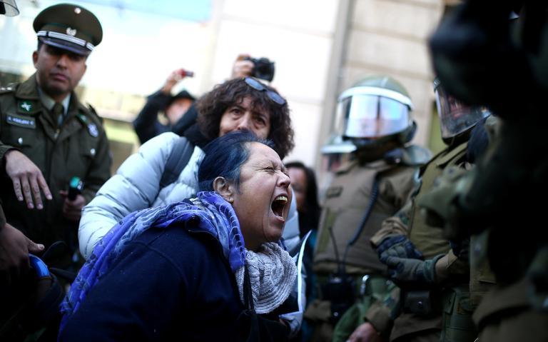 Protesto Chile