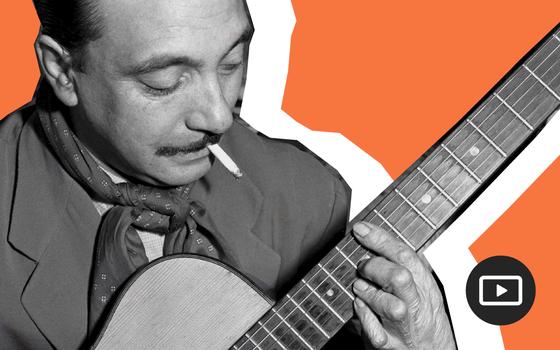 A vida e o suingue do guitarrista Django Reinhardt