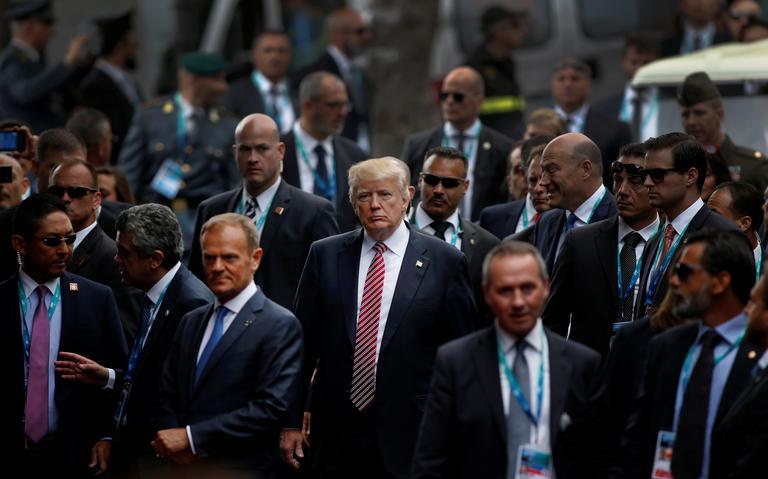 Trump na Itália