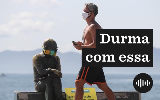 A obrigatoriedade do uso de máscaras em áreas do Brasil