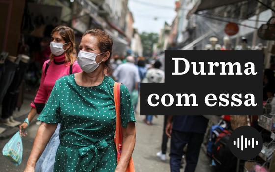 O aumento da taxa de transmissão de covid-19 no Brasil