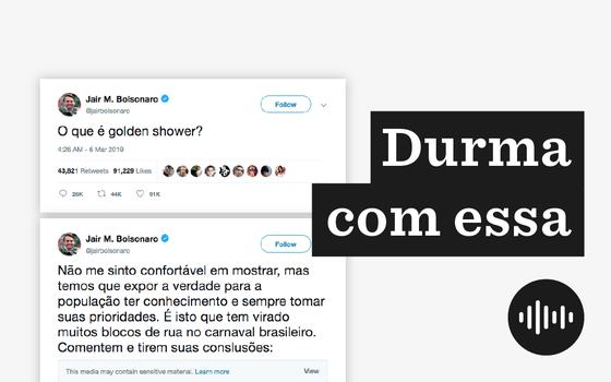 O 'golden shower' do tuíte de Bolsonaro. E sua repercussão