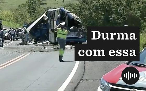 O acidente com mais de 40 mortos numa estrada de São Paulo