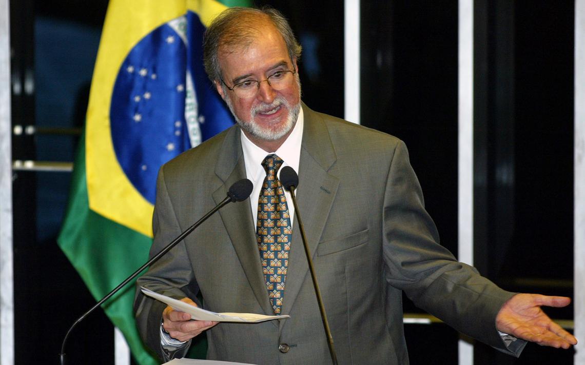Ex-governador de Minas e senador Eduardo Azeredo (PSDB-MG)