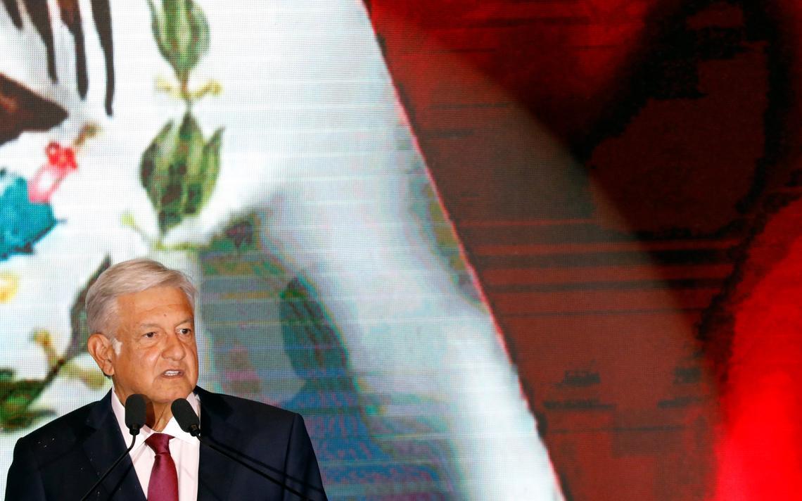 O presidente eleito do México, Andrés Manuel López Obrador