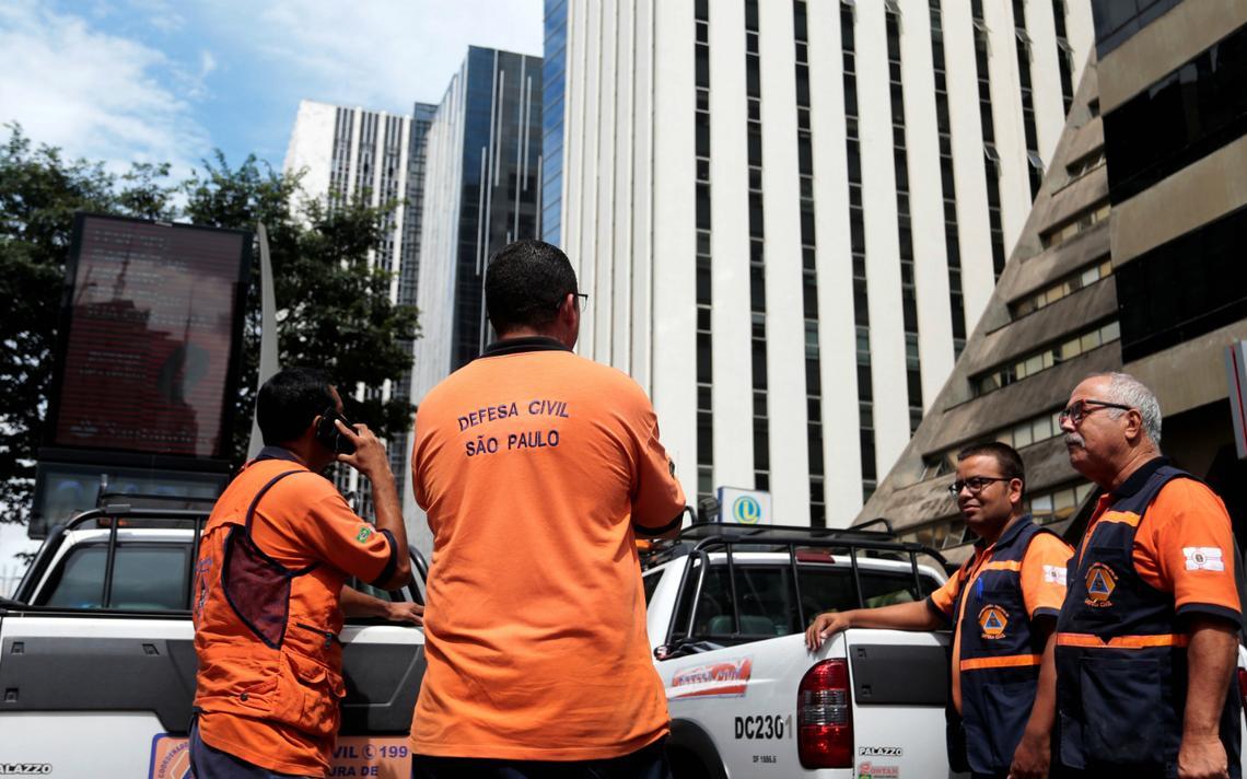 Em São Paulo, Defesa Civil foi chamada e prédios chegaram a ser evacuados