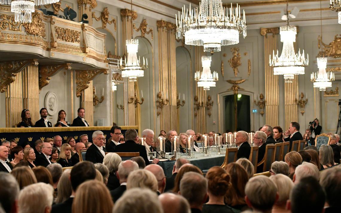 Encontro anual realizado em dezembro na Academia Sueca