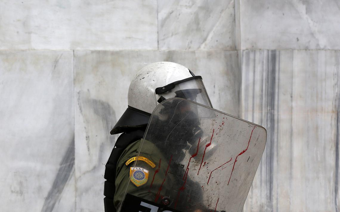 Tropa de Choque na Grécia