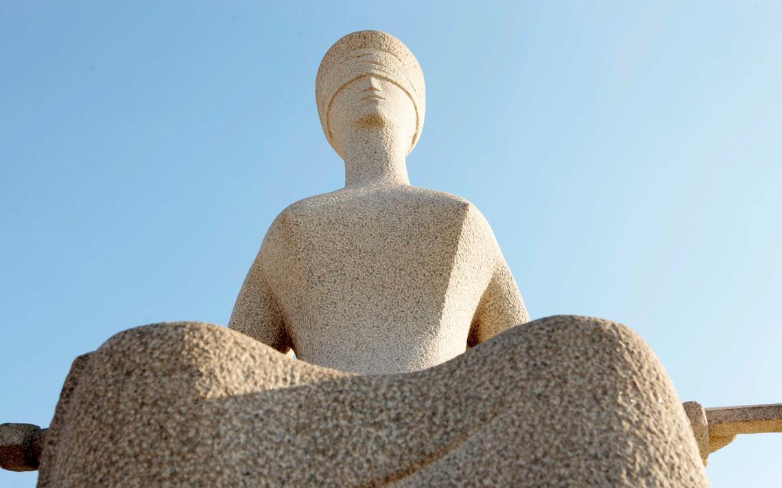Estátua da Justiça em Brasília