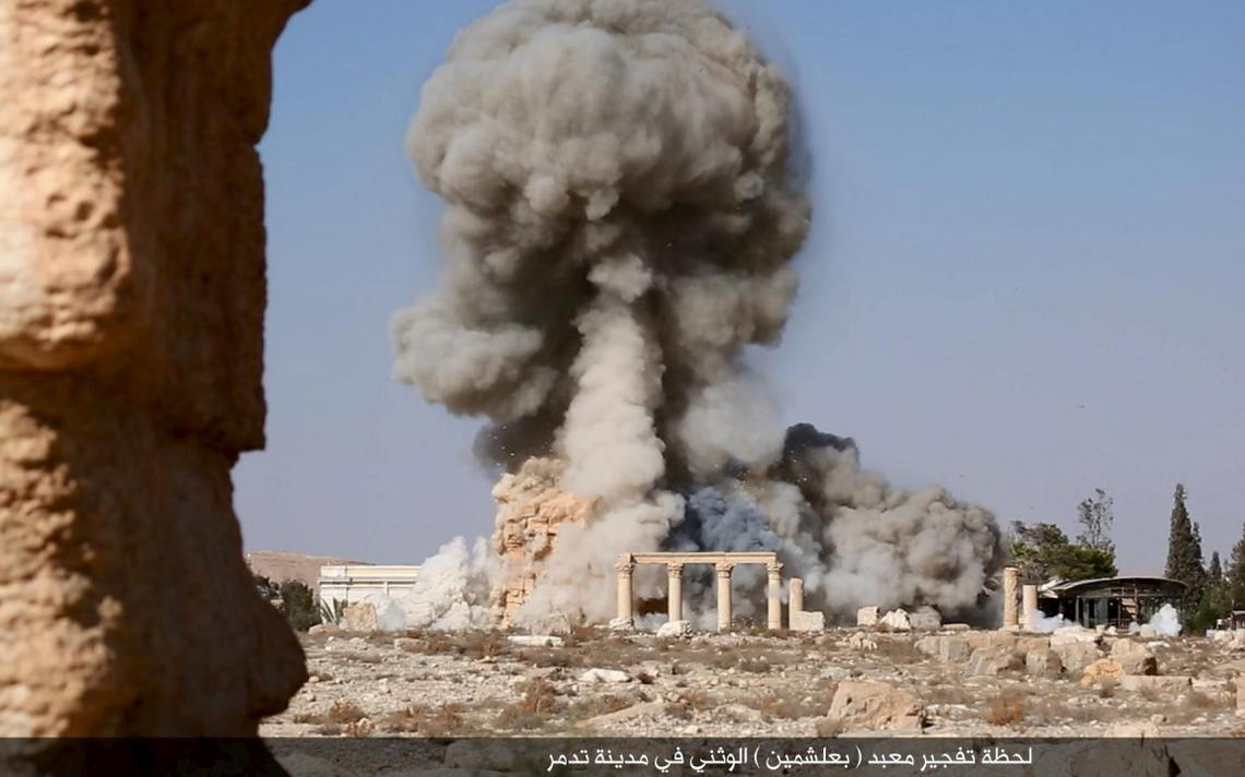 Destruição Palmyra