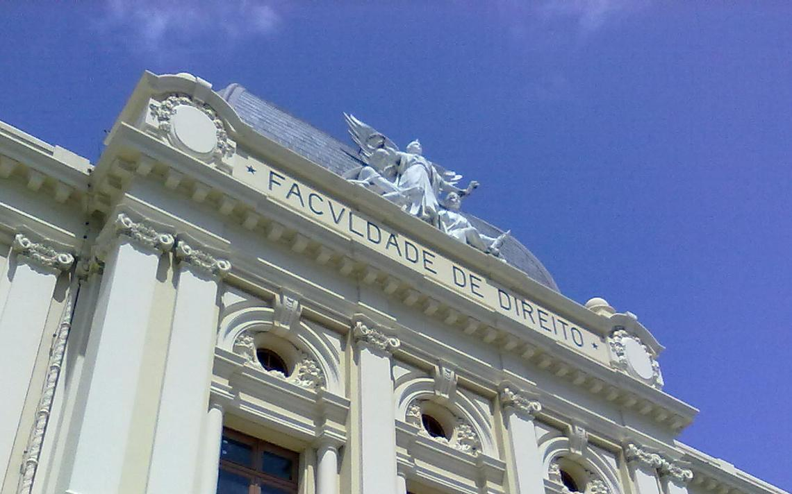 Fachada da Faculdade de Direito da Universidade Federal de Pernambuco