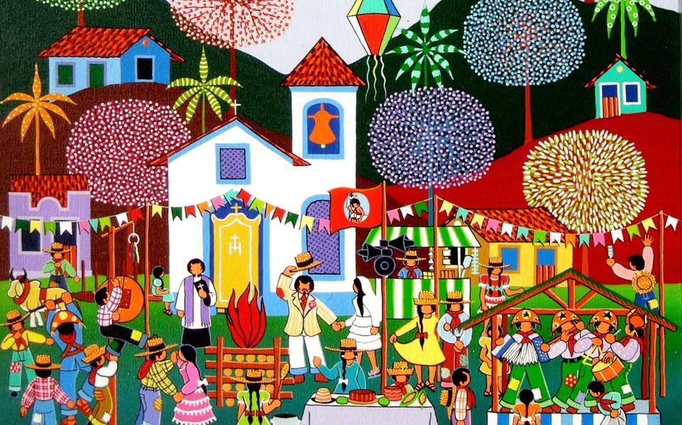 Festa de São João, por Militão dos Santos