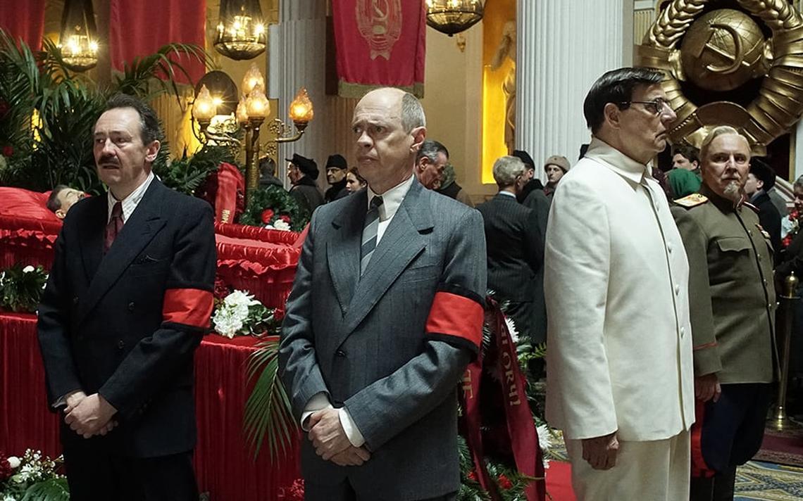 Cena de 'The death of Stalin', cuja distribuição foi barrada pelo governo russo