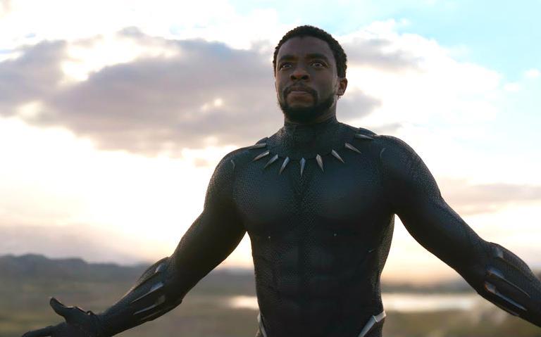 Filme Pantera Negra tem o ator Chadwick Boseman como protagonista