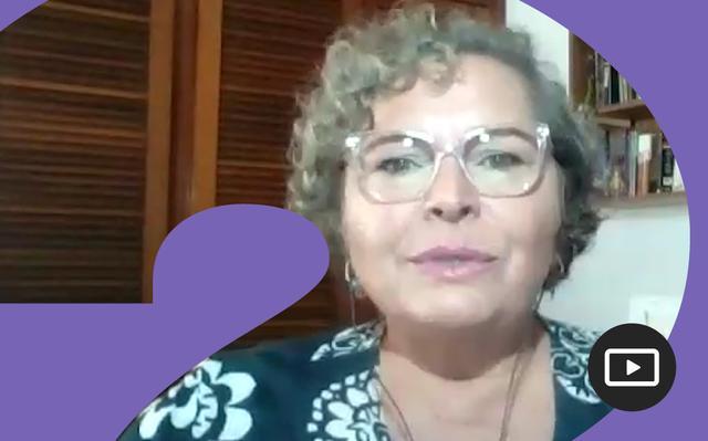 Captura do vídeo da pesquisadora Flávia Vivaldi
