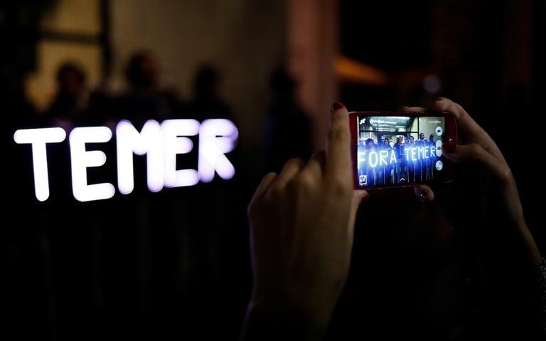 Protesto Fora Temer