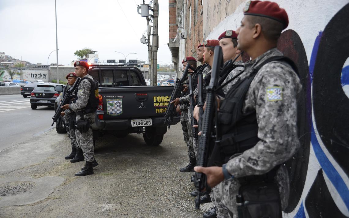 Agentes da Força Nacional