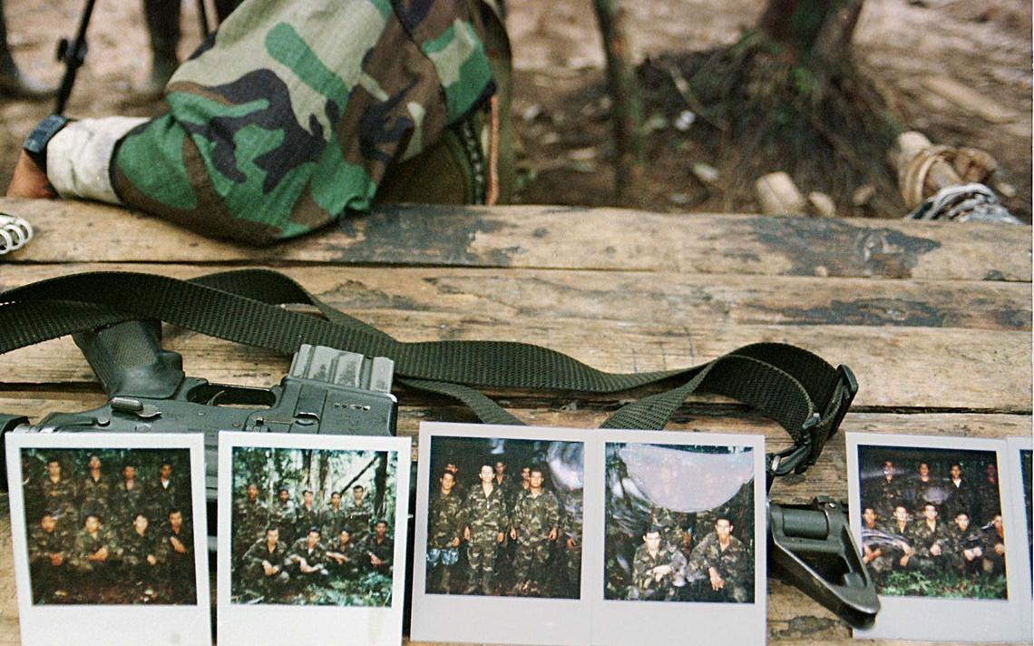 Fotos de soldados da Colômbia sequestrados pelas Farc