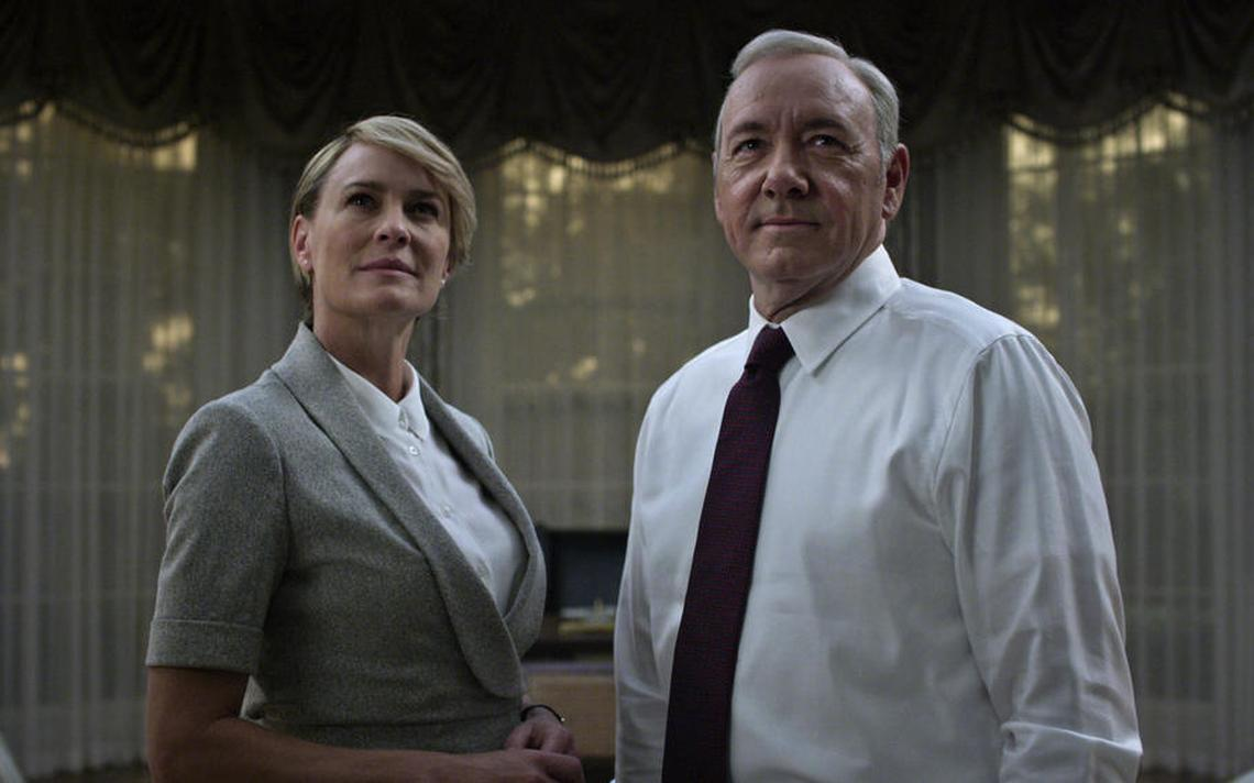 Frank e Claire Underwood, em cartaz de 'House of Cards'