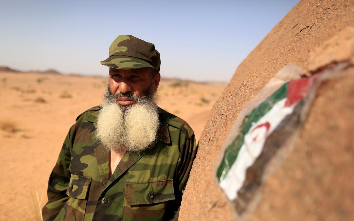 Grupo armado luta pela independência do Saara Ocidental