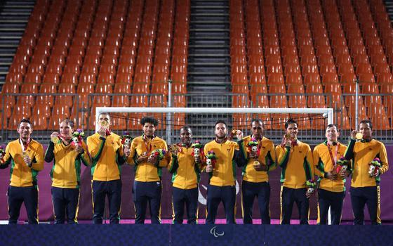 Brasil bate recorde de ouros em uma edição da Paralimpíada