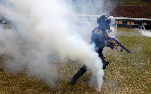 Gás lacrimogêneo