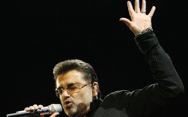 George Michael em show em 2008