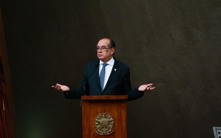Ministro do Supremo e presidente do TSE, Gilmar Mendes