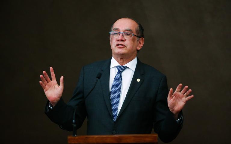 Presidente do TSE em evento em Brasília