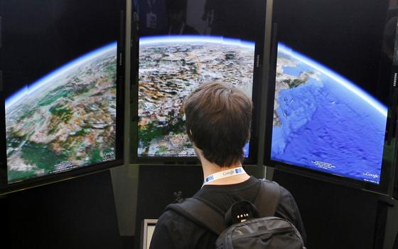A funcionalidade do Google Earth que exibe as mudanças do clima