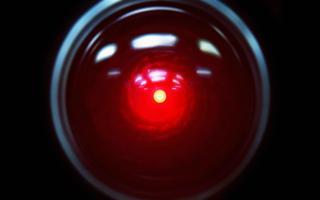 HAL 9000, inteligência artificial de filme '2001: Uma Odisseia no Espaço'
